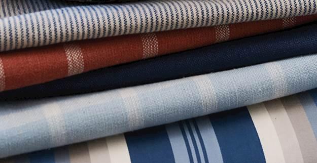 Striped Drapery Fabric