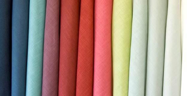 Solid Drapery Fabric