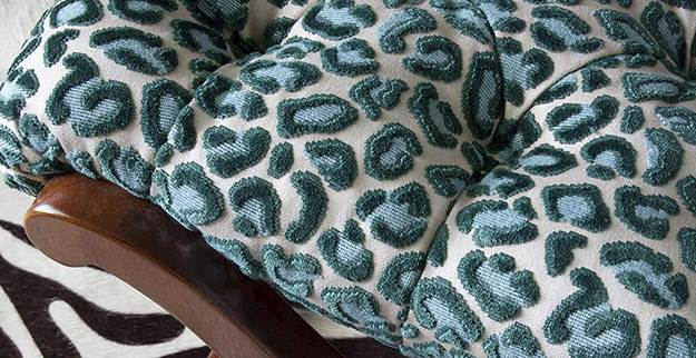 Animal Print Upholstery Fabric