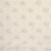 Minky Dot Fabric Ivory