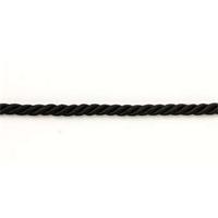 "IR4324 - BK - 3/8"" Cord Trim - Black - 20 YD REEL"