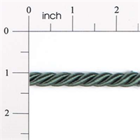 "IR4324 - HGR - 3/8"" Cord Trim - HUNTER GREEN - 20 YD REEL"