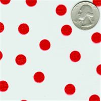Red Dot #1 Oilcloth 12 Yard Bolt