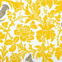 Barber Corn Yellow Kelp Slub by Premier Prints - Drapery Fabric