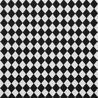Classic Diamond Black White By Premier Prints - Drapery Fabric