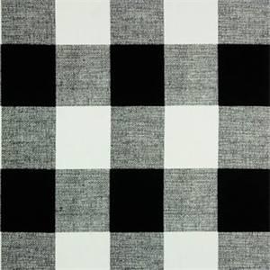 Anderson Black Plaid Drapery Fabric by Premier Prints