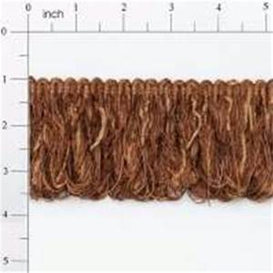 "LB5632I 3"" Chenille Loop Fringe Cinnamon Brown - 10 yard reel"