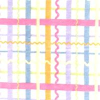 Multi Color Ric Rac Plaid