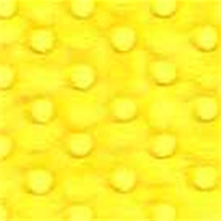 Minky Dot Bright Yellow