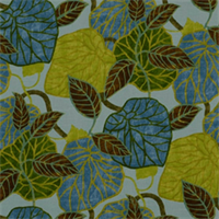 Tropic Scene Hydrangea by Robert Allen Drapery Fabric