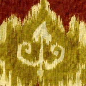Modesto Arbor Ikat Drapery Fabric
