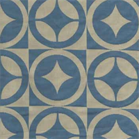 Alvero Bluebell Contemporary Upholstery Fabric by Braemore