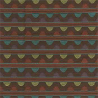 Circle Coffee Bean Contemporary Upholstery Fabric