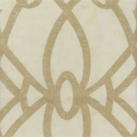Fioretto Sandstone Contemporary Drapery Fabric by Braemore