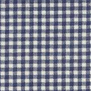 Gingham Indigo Fabric