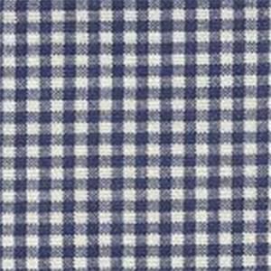 Gingham Indigo Fabric