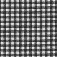 Gingham - Black Fabric