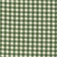 Gingham - Green Fabric