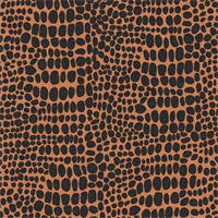 Snake Skin - Earth Fabric