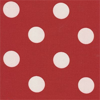 Polka Dot - Red Indoor/Outdoor Fabric