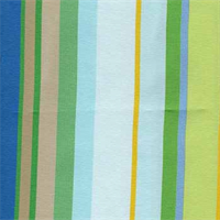 Cabo Stripe Bk Pacific Indoor/Outdoor Fabric by Robert Allen