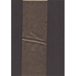 Talara Stripe Brown/Taupe Faux Silk Fabric