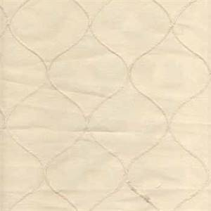 Faux Silk Emily Natural Diamond Drapery Fabric