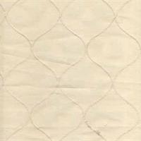Faux Silk Emily Natural Diamond Drapery Fabric