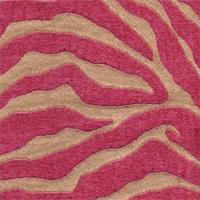 Serengeti Hot Pink Animal Print Upholstery Fabric