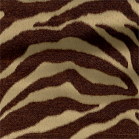 Serengeti Caramel Animal Print Upholstery Fabric