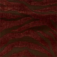 Serengeti Cinnamon Animal Print Upholstery Fabric