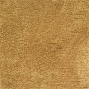 Caramel Paisley Fabric by Trend 01027