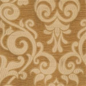 Caramel Damask Fabric by Trend 01029