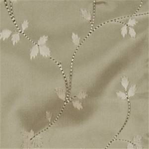 Aluminum Floral Drapery Fabric by Trend 01352