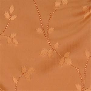 Caramel Floral Drapery Fabric by Trend 01352