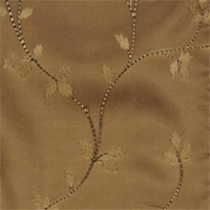 Ebony Floral Drapery Fabric by Trend 01352