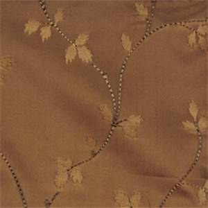 Molasses Floral Drapery Fabric by Trend 01352
