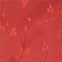 Raspberry Floral Drapery Fabric by Trend 01352