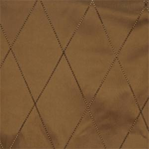 Molasses Diamond Drapery Fabric by Trend 01353