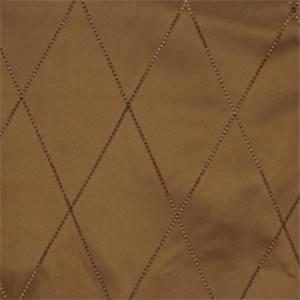 Molasses Diamond Drapery Fabric by Trend 01353