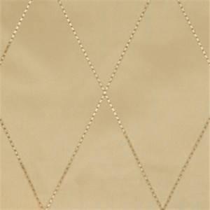 Mushroom Diamond Drapery Fabric by Trend 01353
