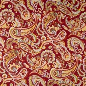 Sangria Paisley Fabric by Jaclyn Smith 01829