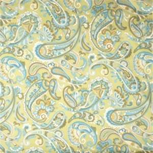 Spa Paisley Fabric by Jaclyn Smith 01829