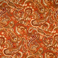 Tabasco Paisley Fabric by Jaclyn Smith 01829