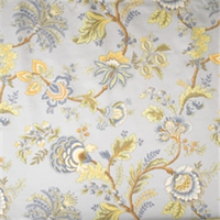 Mist Jacobean Fabric by Jaclyn Smith 01830