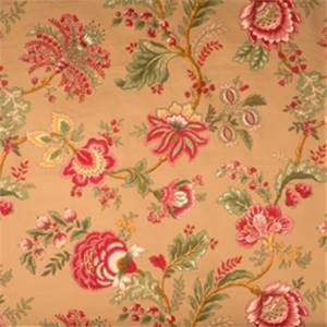 Sangria Jacobean Fabric by Jaclyn Smith 01830