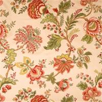 Tabasco Jacobean Fabric by Jaclyn Smith 01830