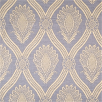Cornflower Damask Fabric by Jaclyn Smith 01835