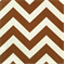 Zig Zag Village Rust Natural Stripe by Premier Print - Drapery Fabric