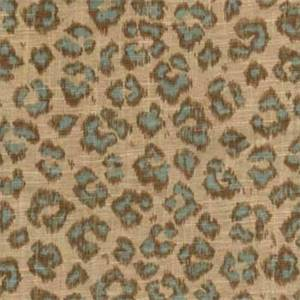 02100 Azure Animal Print Drapery Fabric by Trend